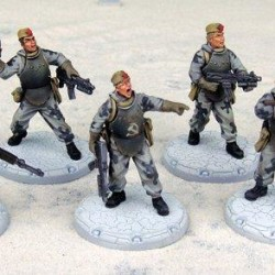 DT044 Dust Tactics - Ohotniki SSU Rifle Squad