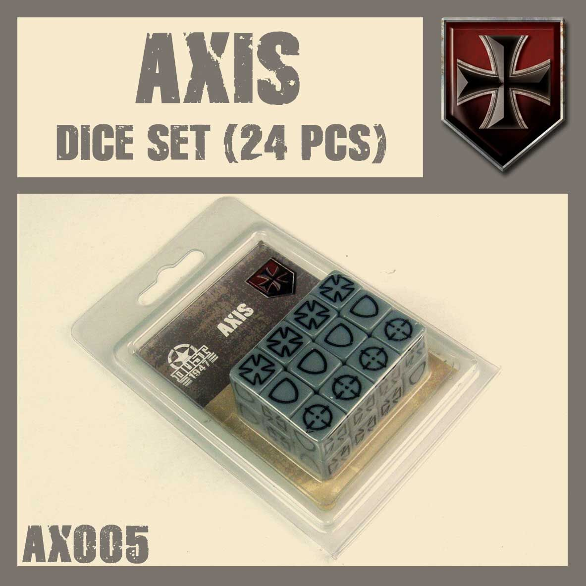 Axis dice set