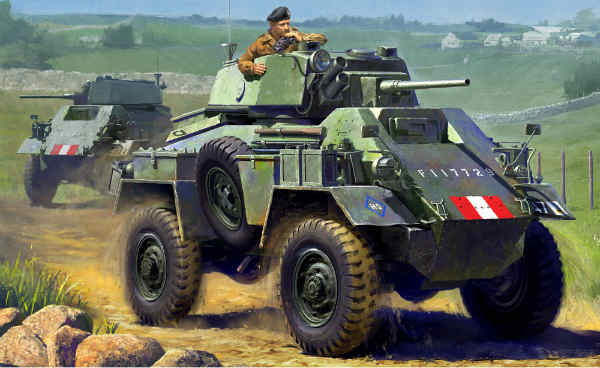 1/48 British 7ton AC Mk.IV (Tamiya)