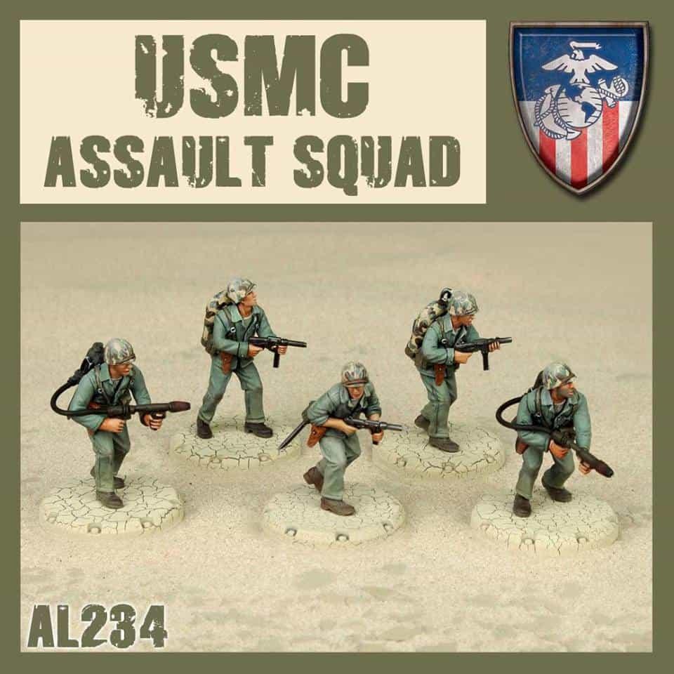 Zdjęcie USMC Assault Squad