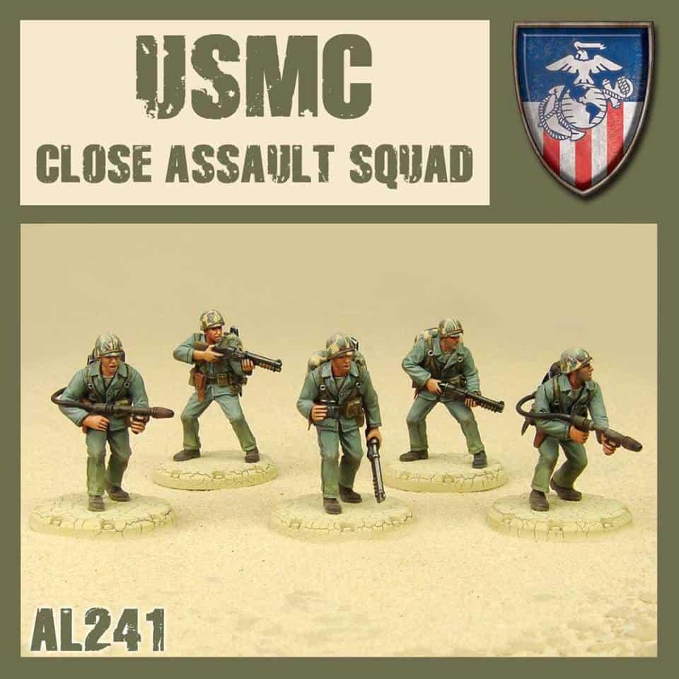 Zdjęcie USMC Close Asault Squad