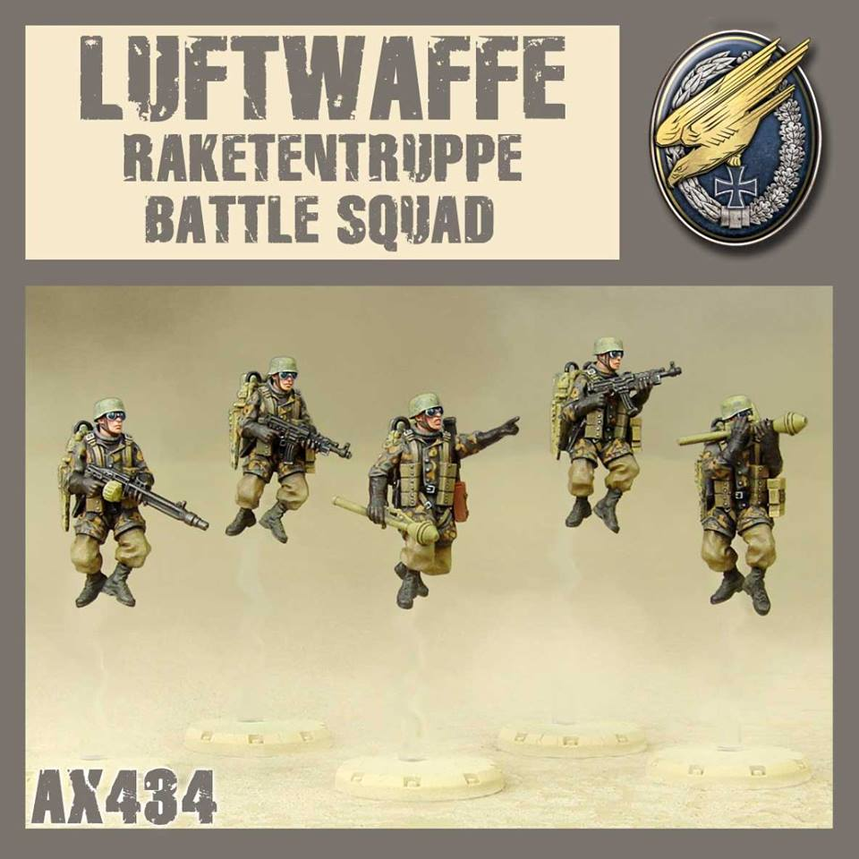 Crows - Rakettentruppe Battle Squad