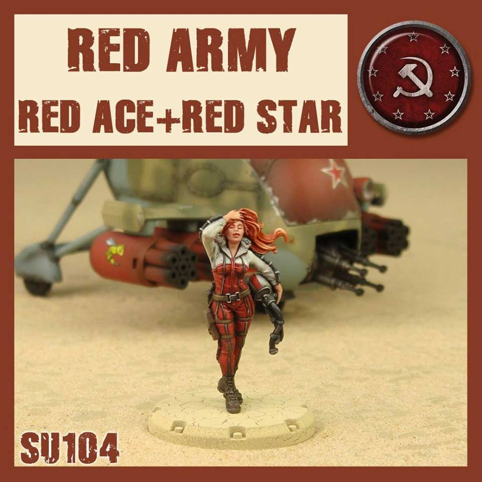 RED ACE & THE RED STAR