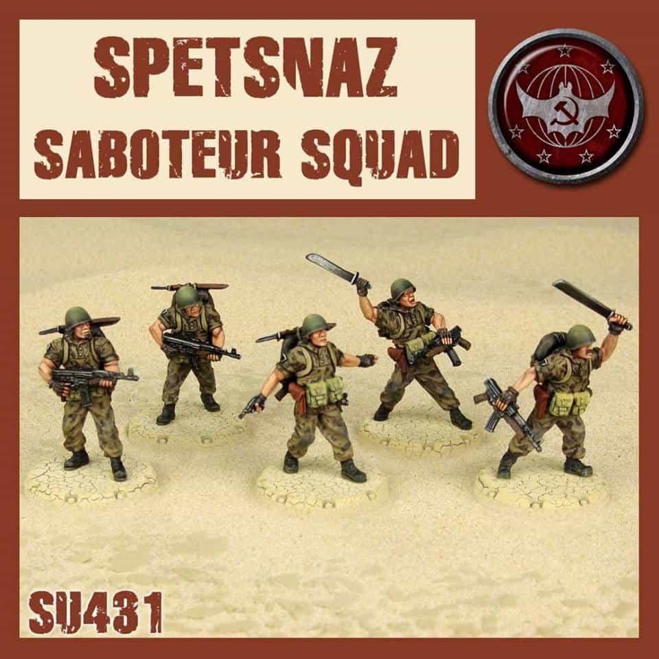 Spetsnaz Saboteur Squad