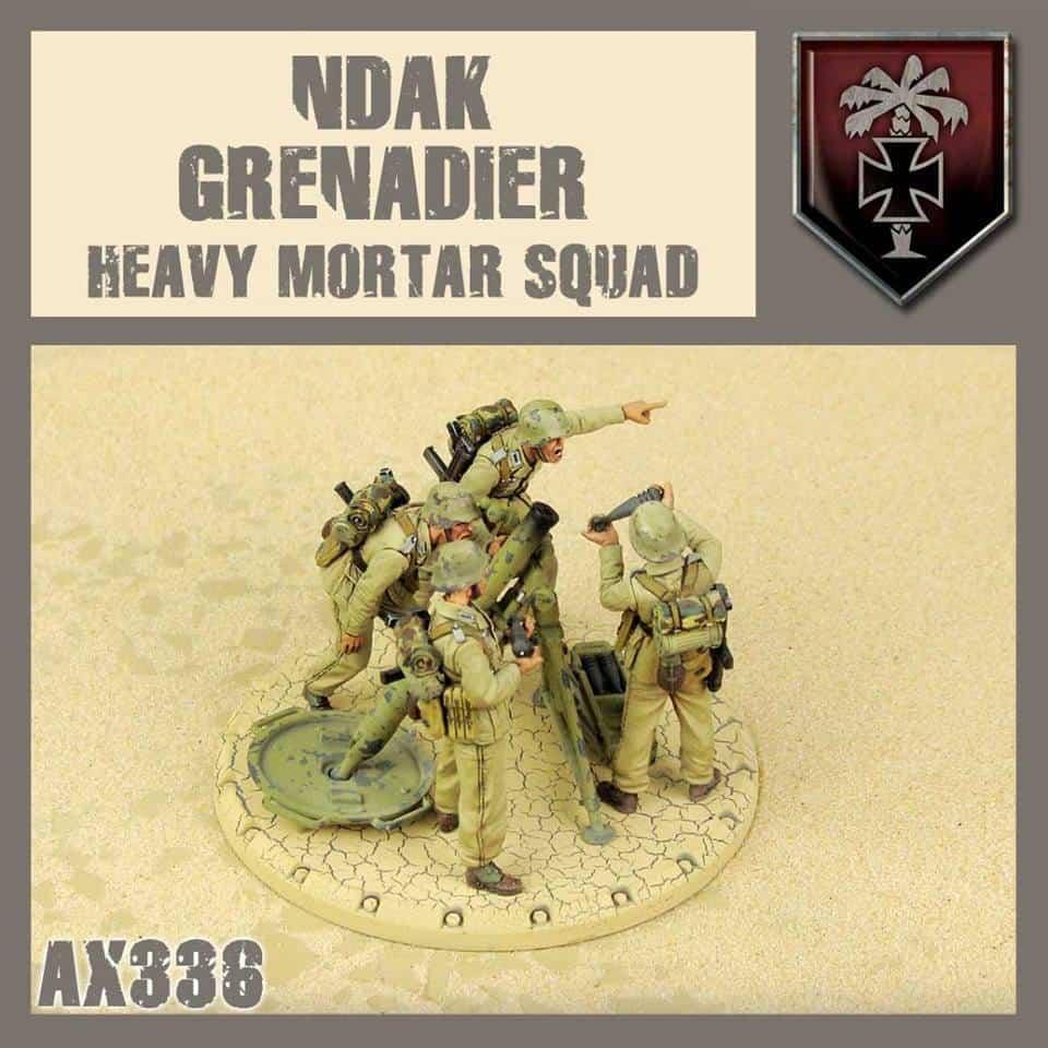 NDAK Heavy Mortar Squad