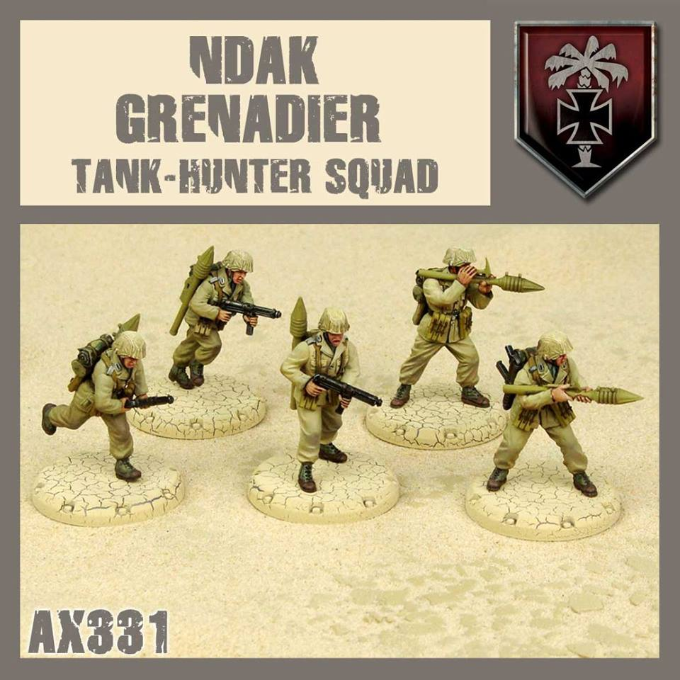 NDAK Tank Hunter Squad
