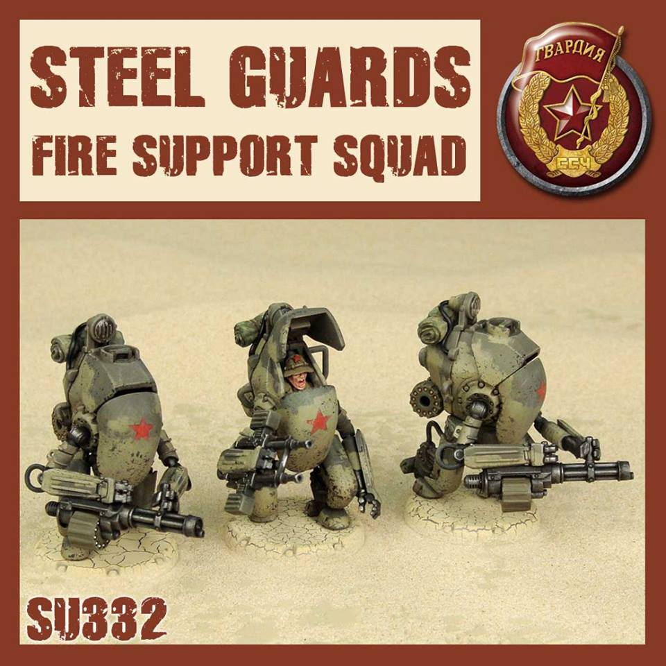 SG Fire Support Squad