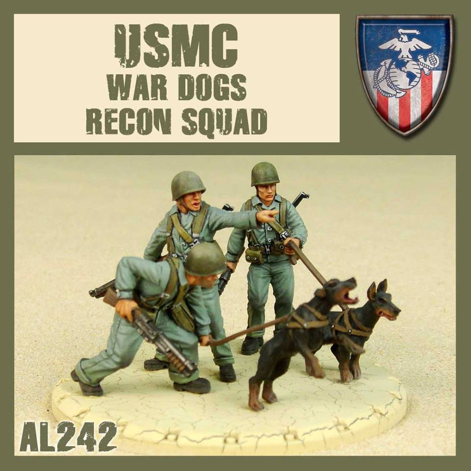 USMC War Dog Recon Squad