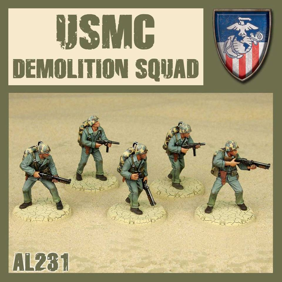 USMC Demolition Squad