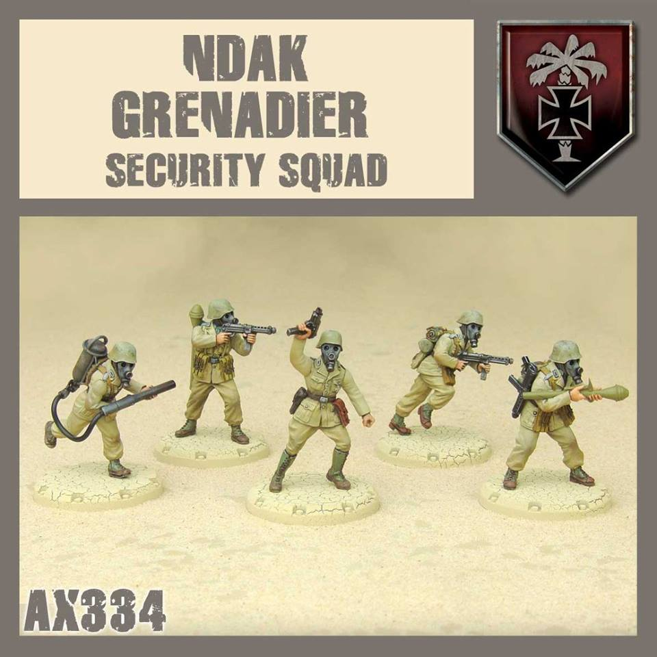 NDAK Grenadier Security Squad