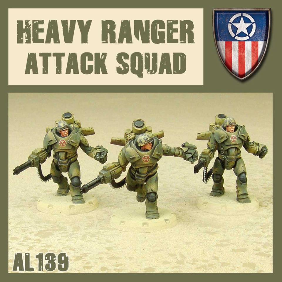 Heavy Ranger Attack Squad