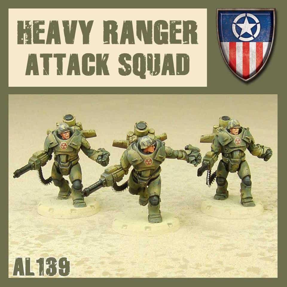 Zdjęcie Heavy Ranger Attack Squad