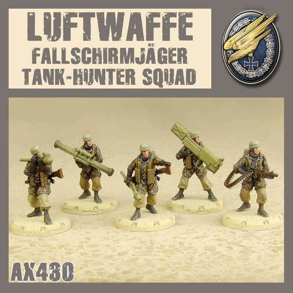 Fallschirmjaeger Tank-Hunter Squad