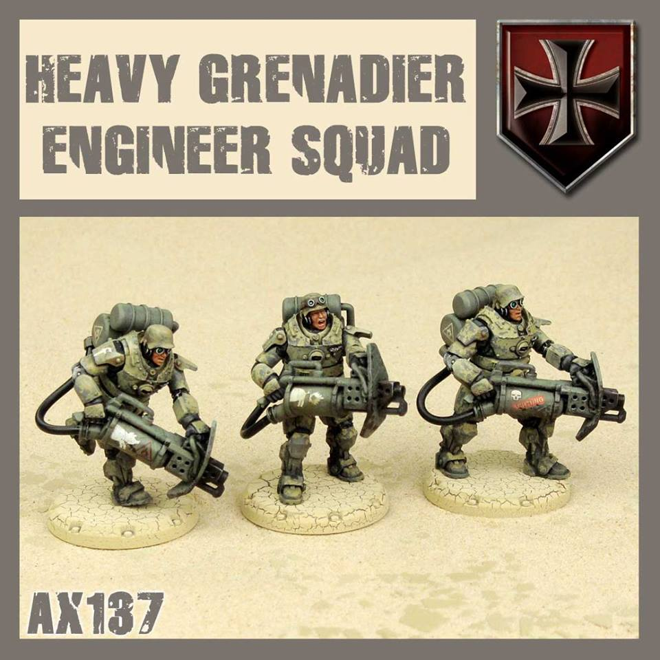 Heavy Grenadier Engineer Squad
