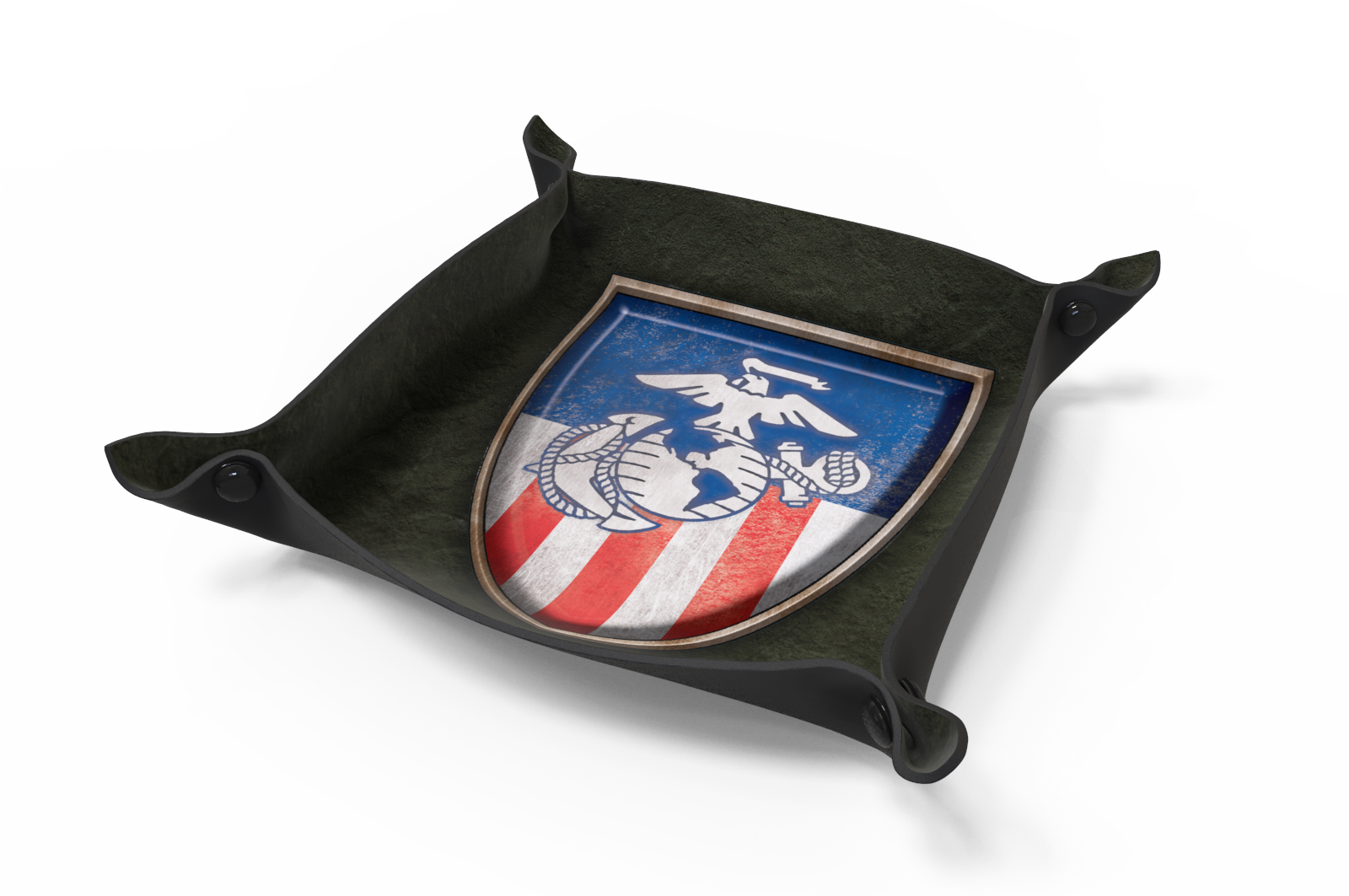 Dice Tray - Marines