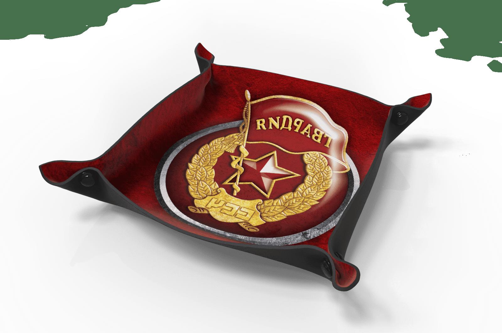 Dice Tray - Czerwona Gwardia