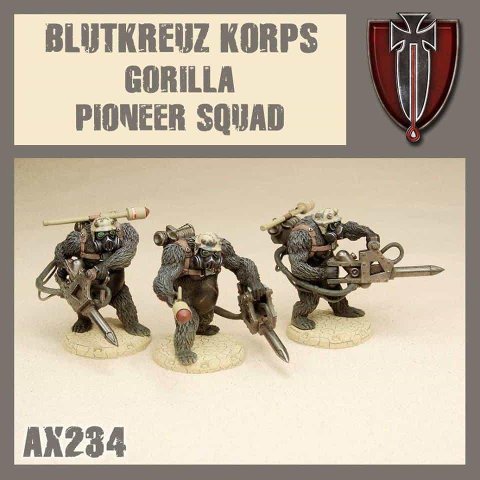 Blutkreuz Gorilla Pioneer Squad