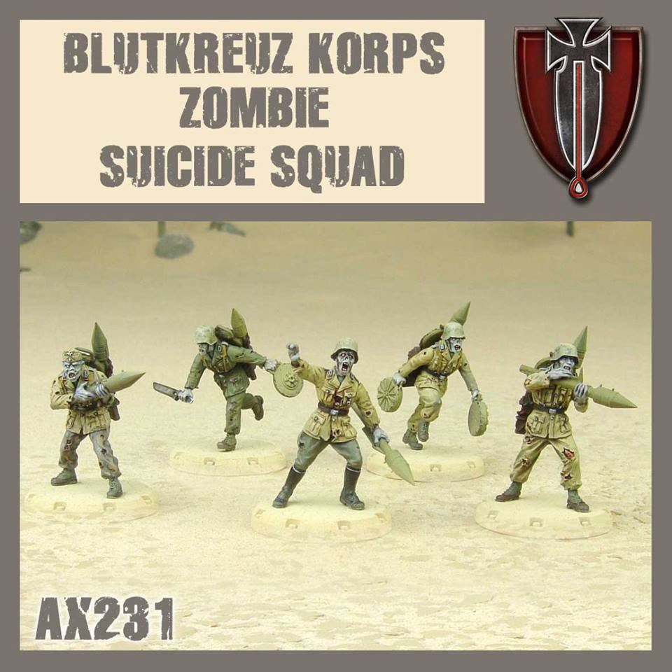 Blutkreuz Suicide Zombies