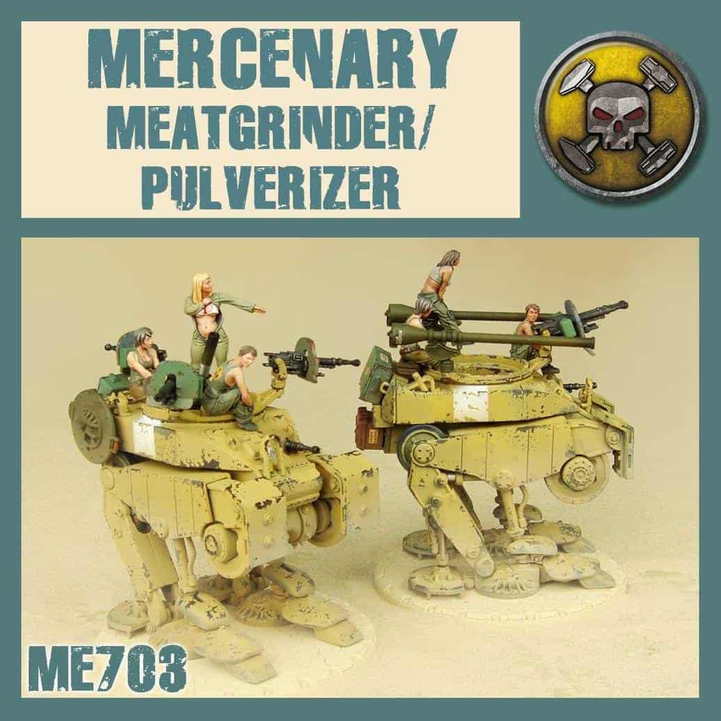 Mercenary Meatgrinder/Pulverizer