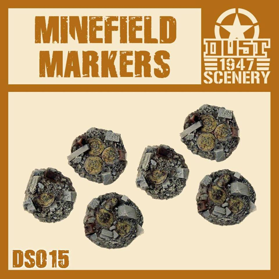 ''MINEFIELD MARKERS'' PRIMED