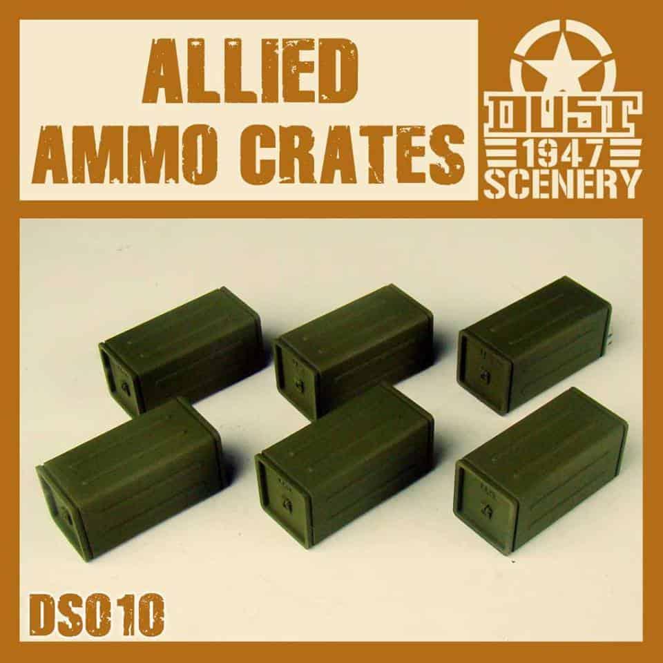 Zestaw Skrzyń Amunicyjnych Aliantów (Allied Ammo Crates)