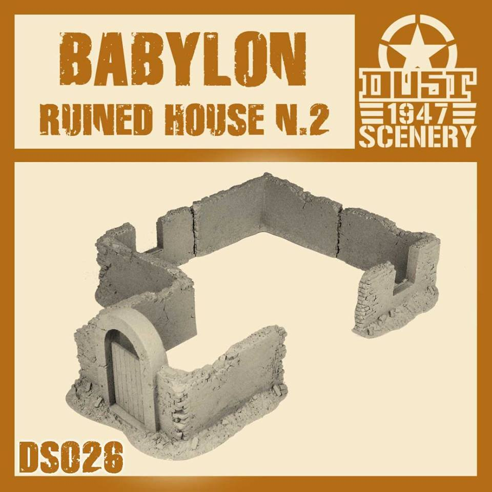 BABYLON RUINED HOUSE 2