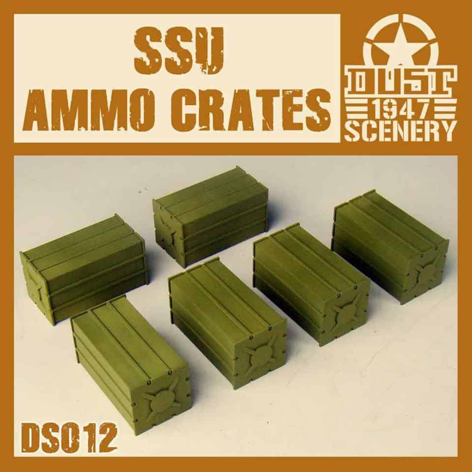Zestaw Skrzyń Amunicyjnych ZSS (SSU Ammo Crates)