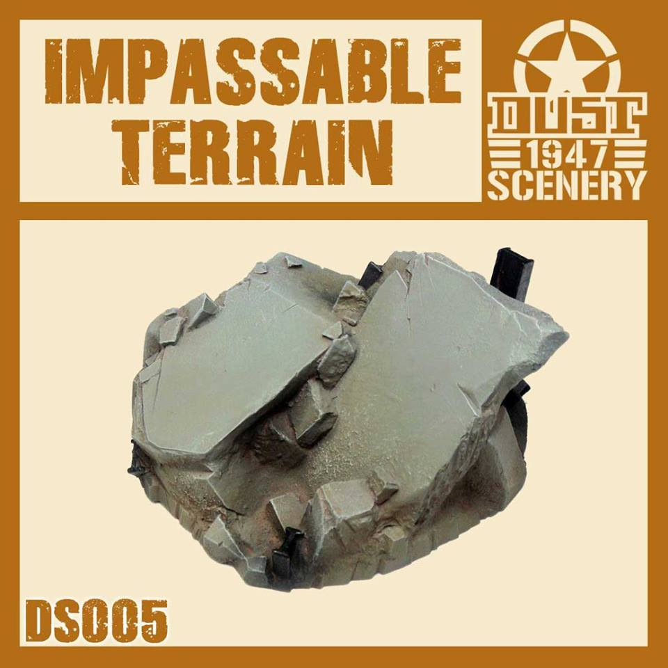 ''IMPASSABLE TERRAIN'' PRIMED