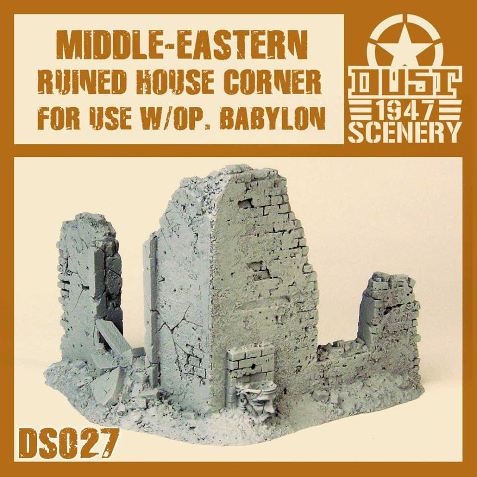 Middle East Ruined House Corner