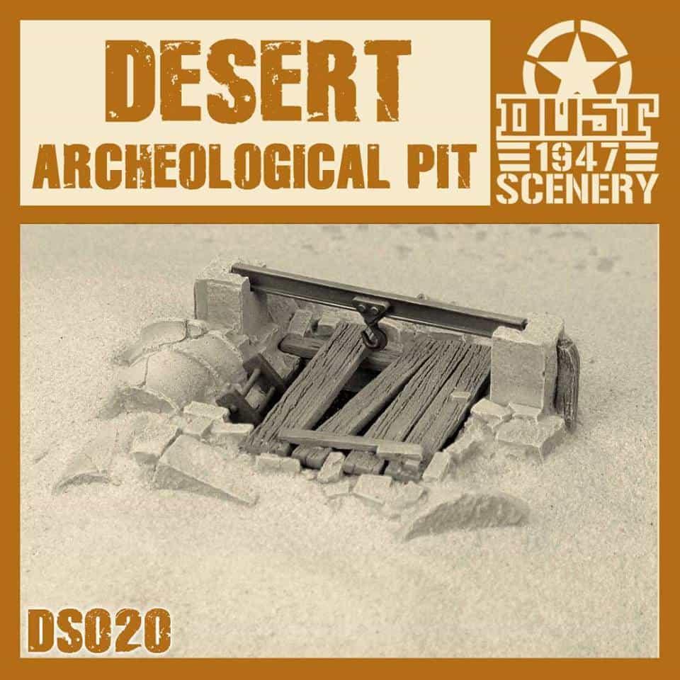 Wykopaliska Archeologiczne (Desert Archeological Pit)