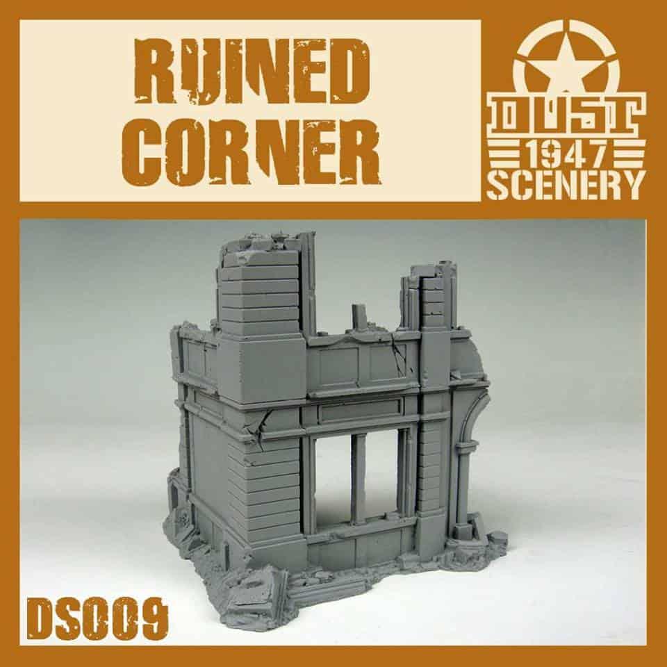 Building corner (Ruiny rogu budynku)