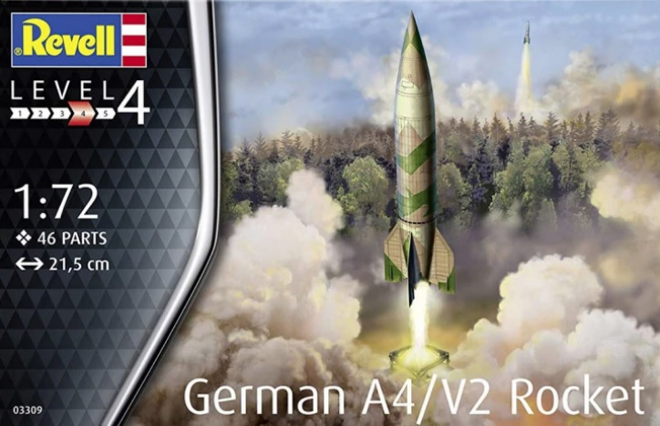 1/72 German A4 / V2 Rocket (Revell)