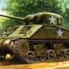 Zdjęcie 1/48 M4 Sherman, early (Tamiya)