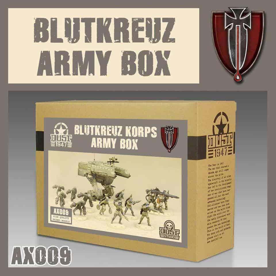 Zdjęcie Zestaw Armijny Blutkreuz