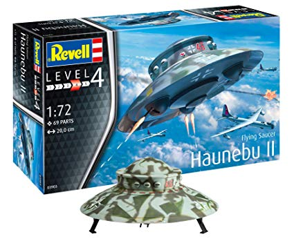1/72 German Haunebu II Flying Saucer (Revell)