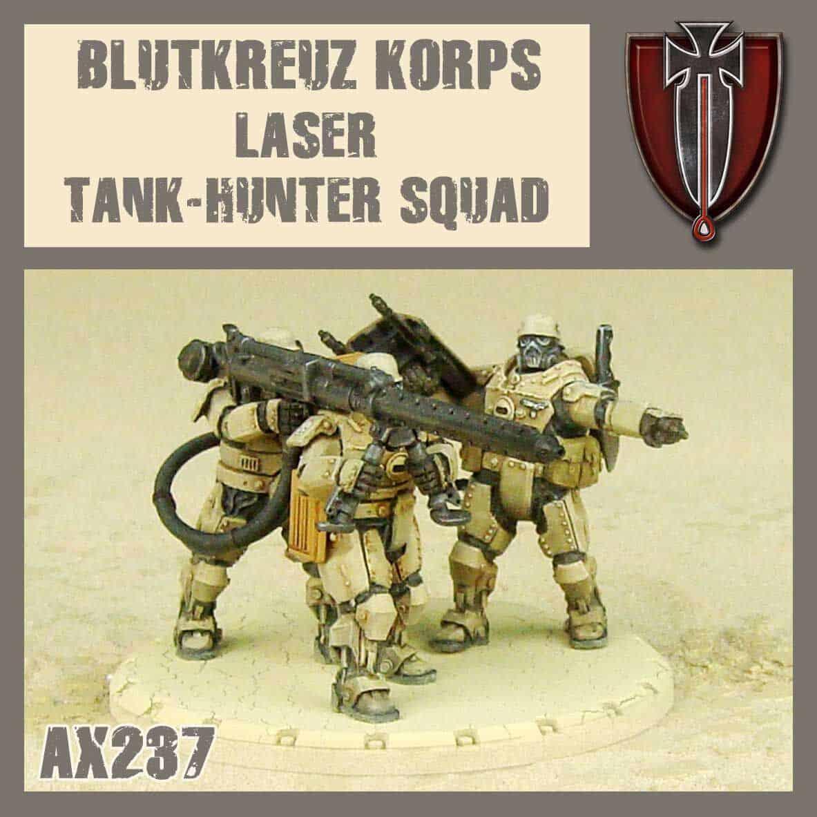 Blutkreuz Krops Laser Tank-Hunter Squad