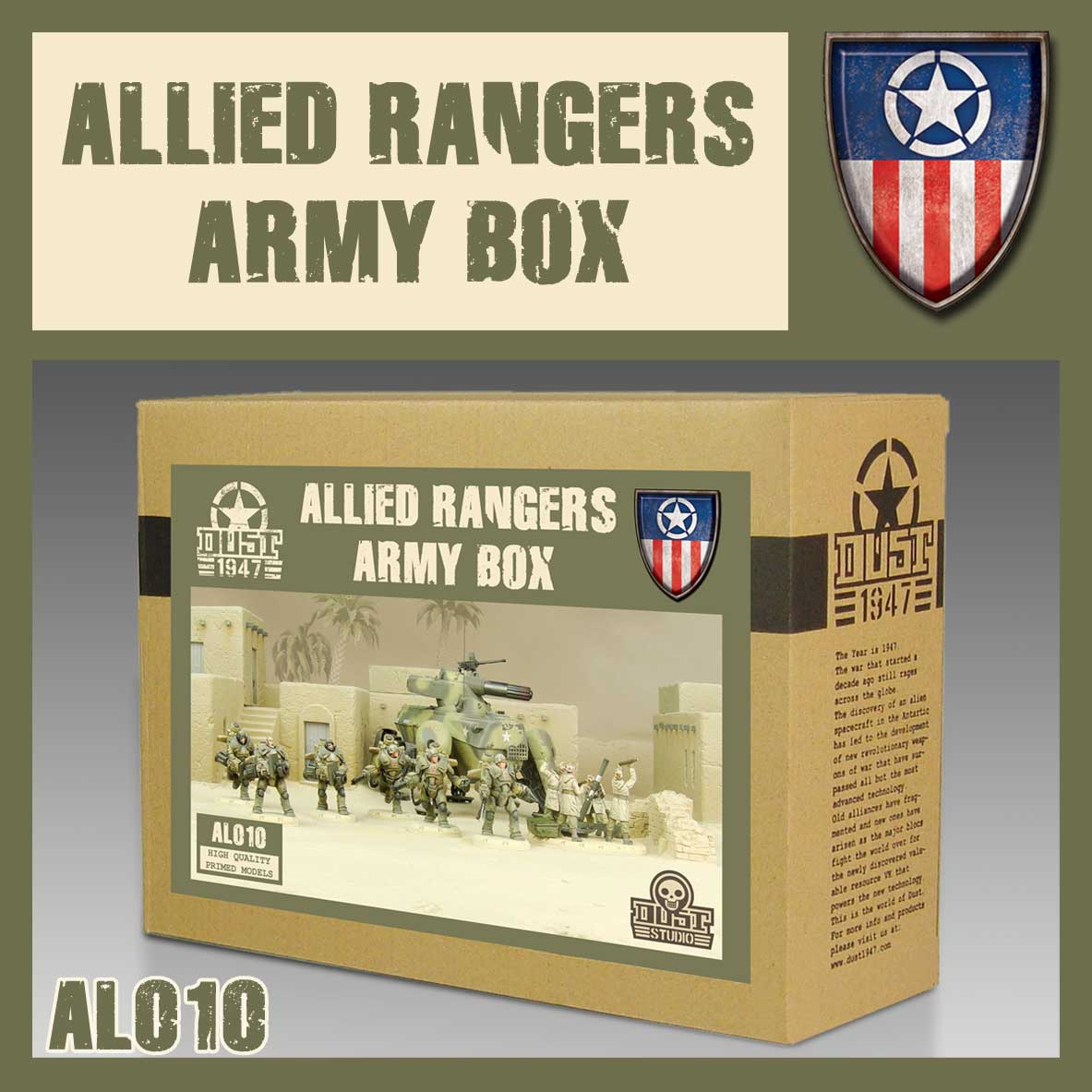 Ranger Army Box