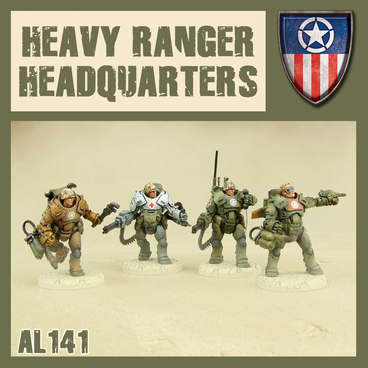 Heavy Rangers HQ