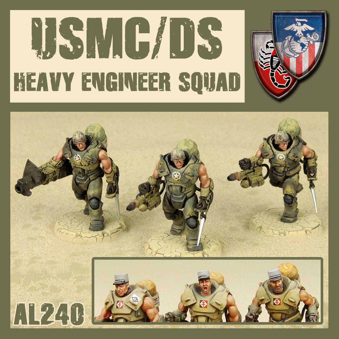 USMC/DS Heavy Engineer Squad
