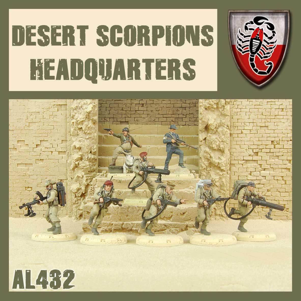 Desert Scorpion HQ