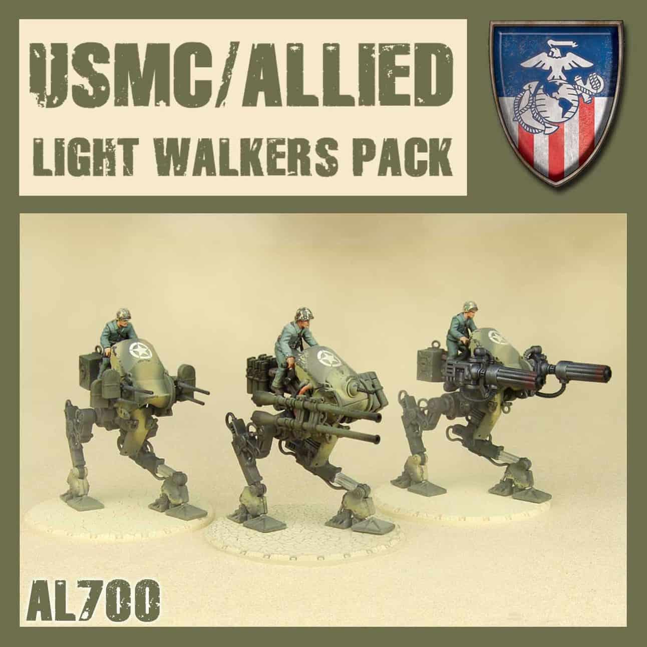 Lekki Mech Aliancki – Zestaw (Allied Light Walkers Pack )