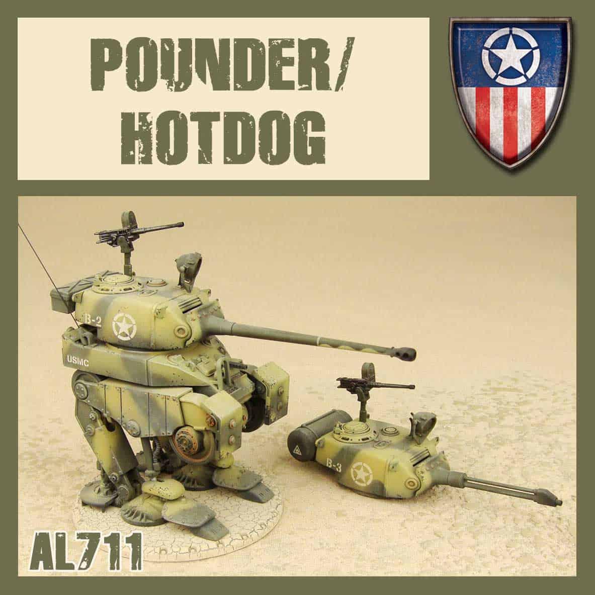 Pounder/Hot Dog