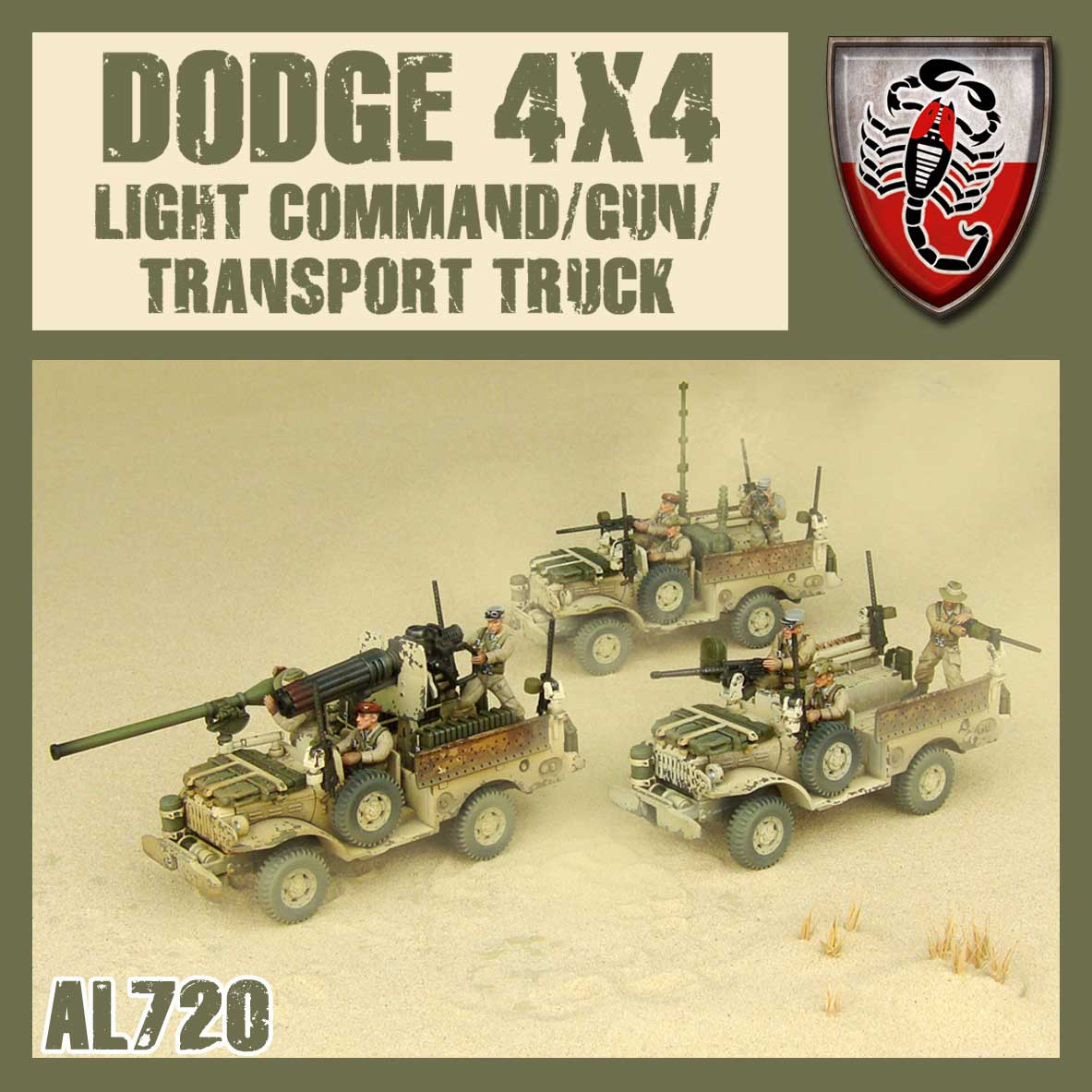Command/Gun/Transport Truck