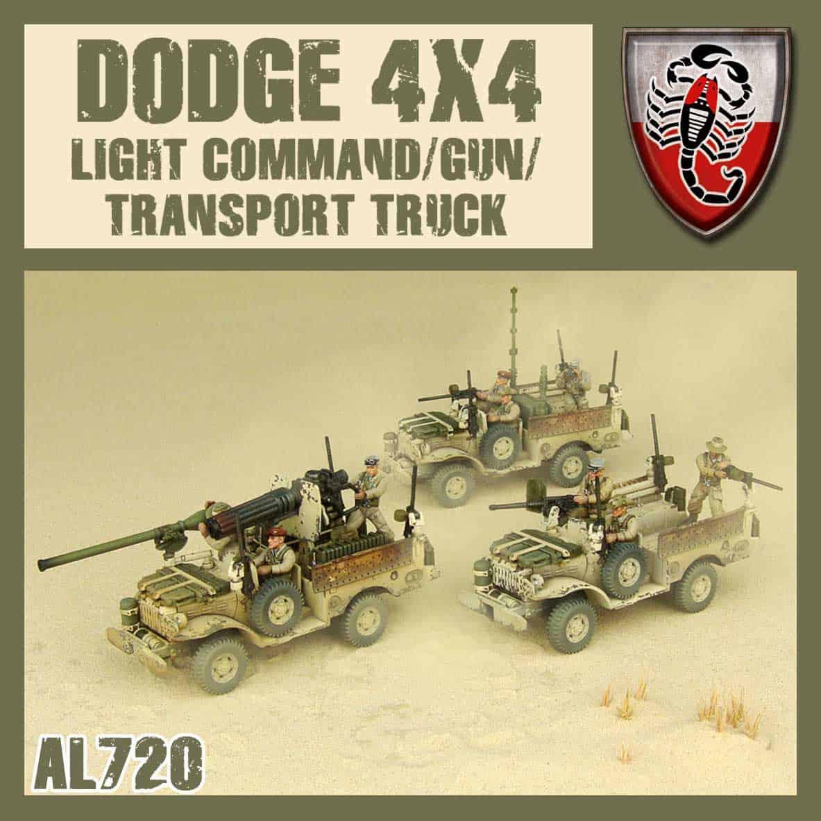 Zdjęcie Command/Gun/Transport Truck