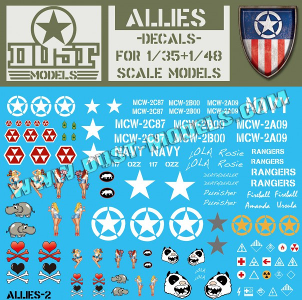 ALLIES DECALS