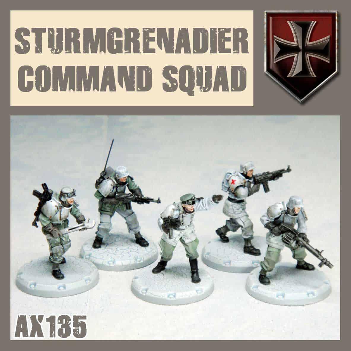 Sturmgrenadier Command Squad