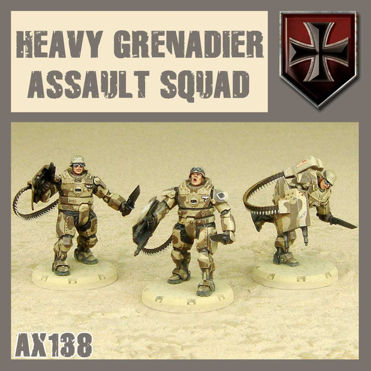Heavy Grenadier Assault Squad