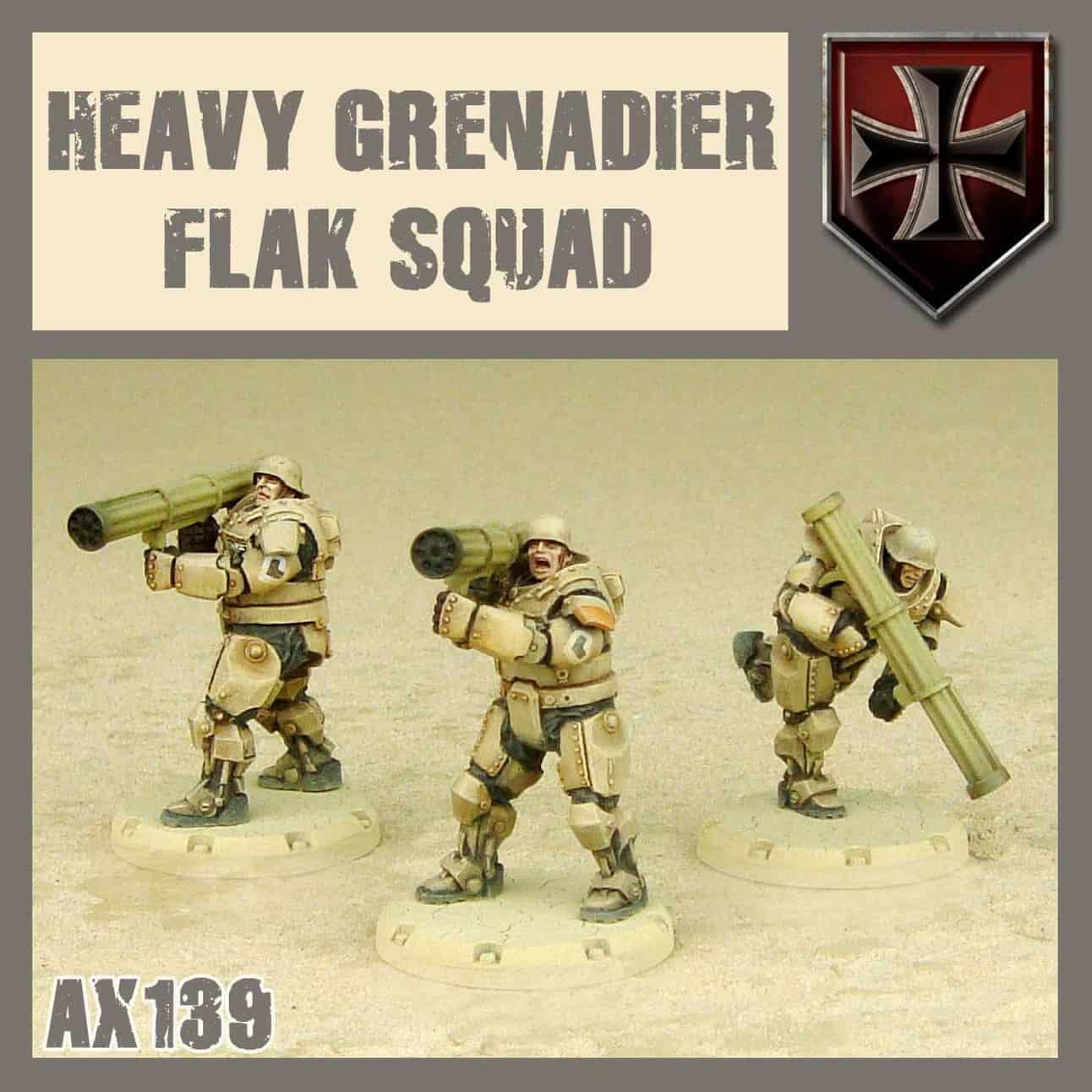HEAVY GRENADIER FLAK SQUAD