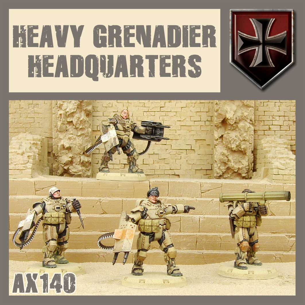 Heavy Grenadier Command Squad