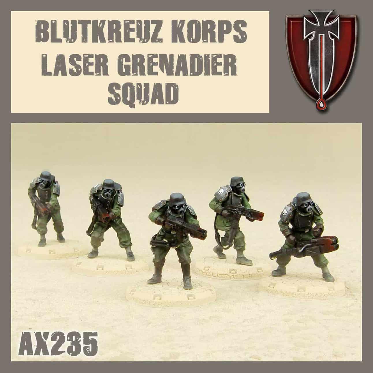Zdjęcie Laser Grenadiers